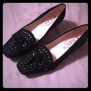 Tod's Women's Black Court
